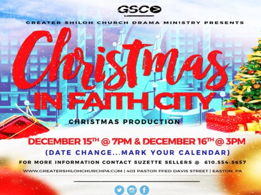Christmas Production – Christmas in Faith City