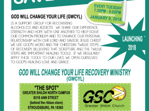 God Will Change Your Life – Stroudsburg