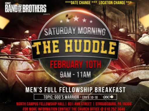Men's Ministry – The Huddle